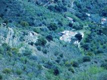 Bergen van Malaga Stock Afbeeldingen