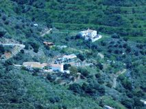 Bergen van Malaga Royalty-vrije Stock Afbeeldingen