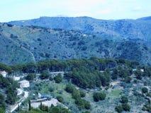 Bergen van Malaga Royalty-vrije Stock Fotografie