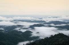 Bergen van noordelijk Thailand Stock Afbeeldingen