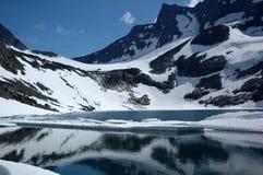 In bergen van Noorwegen Royalty-vrije Stock Foto