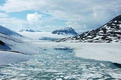 In bergen van Noorwegen Royalty-vrije Stock Afbeeldingen