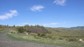 Bergen van Oostelijk Kazachstan stock videobeelden