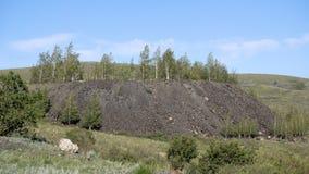 Bergen van Oostelijk Kazachstan stock footage
