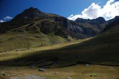 Bergen van Peru Stock Foto