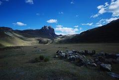 Bergen van Peru Stock Afbeeldingen