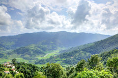 Bergen van Pokhara Stock Afbeeldingen