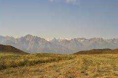 Bergen van zuidelijk Kyrgyzstan Stock Fotografie
