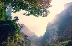 Bergen in Vietnam Royalty-vrije Stock Afbeelding