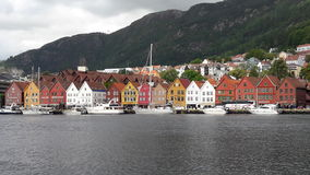 Bergen view 1 Royalty Free Stock Photos