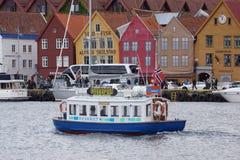 Bergen view Stock Image