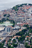 Bergen, view of the city from above Royalty Free Stock Images