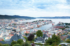 Bergen view Royalty Free Stock Image