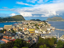 Bergen view Stock Photography
