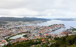 Bergen View Stock Photo