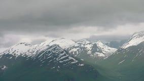 Bergen in West-Noorwegen stock video