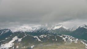 Bergen in West-Noorwegen stock footage