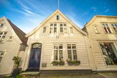 Bergen wooden house Stock Photography