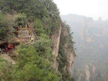 Bergen in Zhanjiajie stock afbeelding