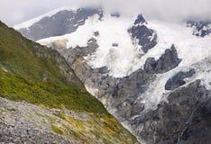 Bergengletsjers, Nieuw Zeeland Royalty-vrije Stock Foto's
