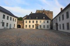 Bergenhus forteca w Bergen Zdjęcie Royalty Free