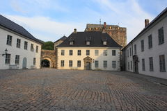 Bergenhus fortress in Bergen Royalty Free Stock Photo