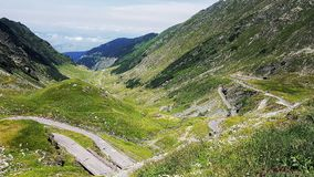 Bergenweg Stock Foto