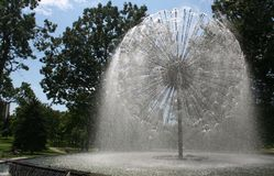 berger fontanna Minneapolis Minnesota Obraz Stock