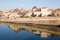 Bergerac en Francia Foto de archivo libre de regalías