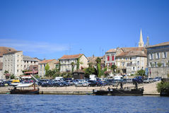 Bergerac port. Dordogne river in France Stock Photography