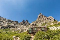 Bergerie at Lac de Melo near Corte in Corsica Stock Photography
