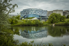 Bergeron Centre for Engineering Excellence. During Doors Open Toronto event, May 28, 2017 Royalty Free Stock Photos