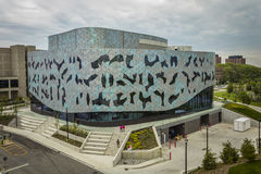 Bergeron Centre for Engineering Excellence. During Doors Open Toronto event, May 28, 2017 Stock Photos