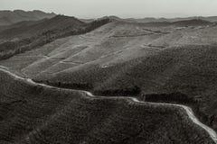 Berget för xianglu-långa arkivbilder