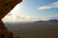 Berget förbiser i den Tonto nationalskogen nära Phoenix Arizona Royaltyfria Foton