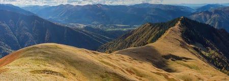 Berget sporrar Royaltyfri Fotografi