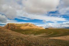 Berget Tibet Royaltyfria Foton