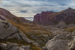 Bergfält Royaltyfri Bild
