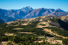 Bergfält Royaltyfri Foto