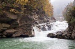 bergflod Royaltyfria Foton