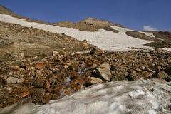 bergflodvulkan Royaltyfri Fotografi