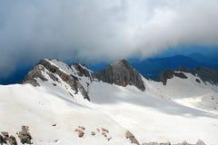bergfolk två Arkivbilder