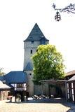 Bergfried Altena castle Stock Image