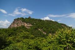 Berggansus Kongtong chinese Lizenzfreies Stockfoto