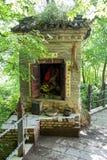 Berggansus Kongtong chinese Lizenzfreie Stockbilder