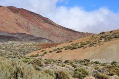 Berggebied, Teide, Tenerife Royalty-vrije Stock Foto