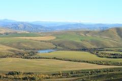 Berggebieden Royalty-vrije Stock Fotografie