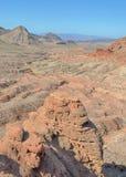 Berggipfel, Lake Mead, See Mead National Recreation Area, Nanovolt Lizenzfreies Stockfoto
