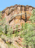 Berggipfel-nationales Denkmal Stockbild
