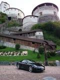 Berggipfel Porsche Lizenzfreies Stockfoto